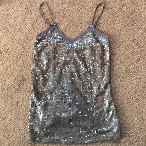 Sparkly Tank-top